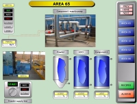 SCADA supervision page example